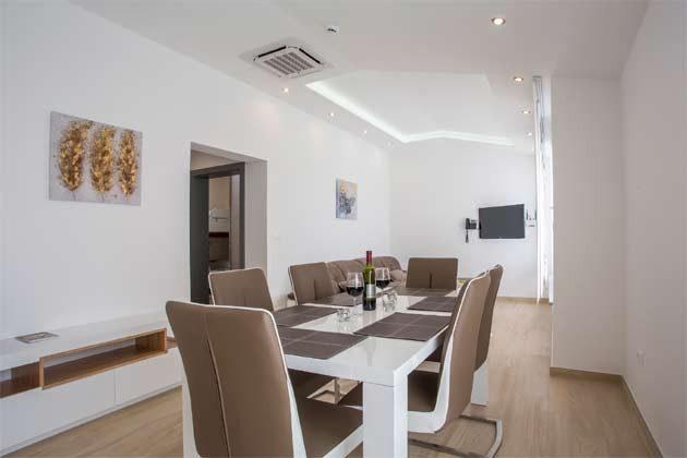 Apartment 4+1 Essbereich
