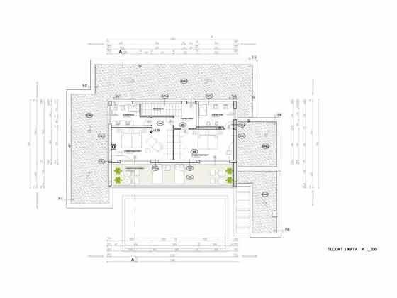 Grundriss Obergeschoss - Objekt 203989-1
