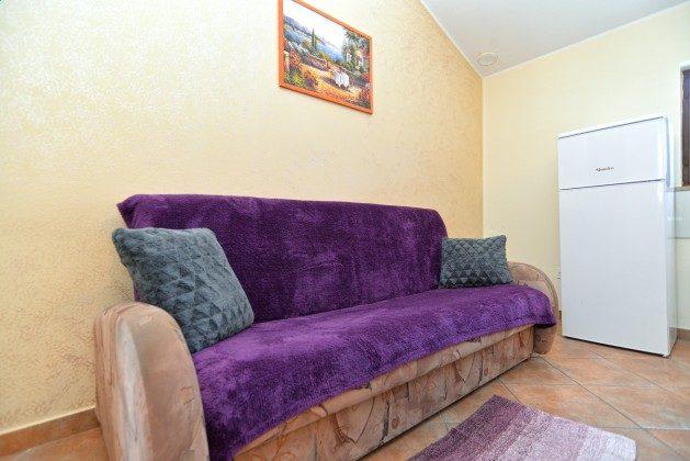 Schlafsofa in der Wohnküche  - Objekt 160284-306