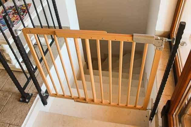 Obergeschoss Treppensicherung