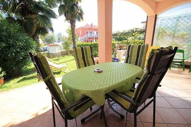 Sitzplatz auf der Terrasse - Objekt 160284-114