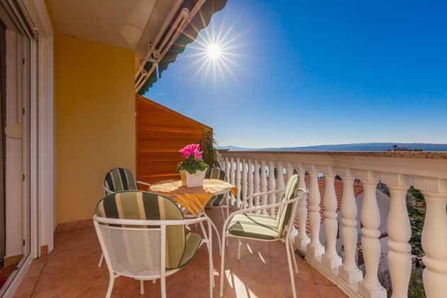 Balkon mit Meerblick A4