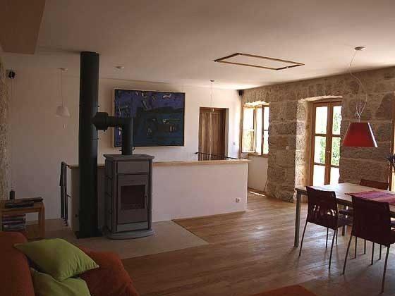 Wohnküche mit Kaminofen- Objekt 161462-1