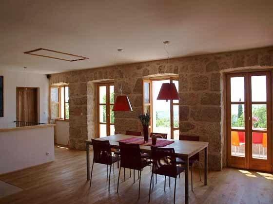 Wohnküche Essplatz und Ausgang zur Veranda- Objekt 161462-1