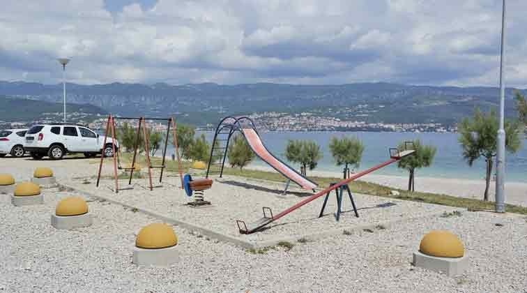 Spielplatz am Strand - Objekt 94961-1