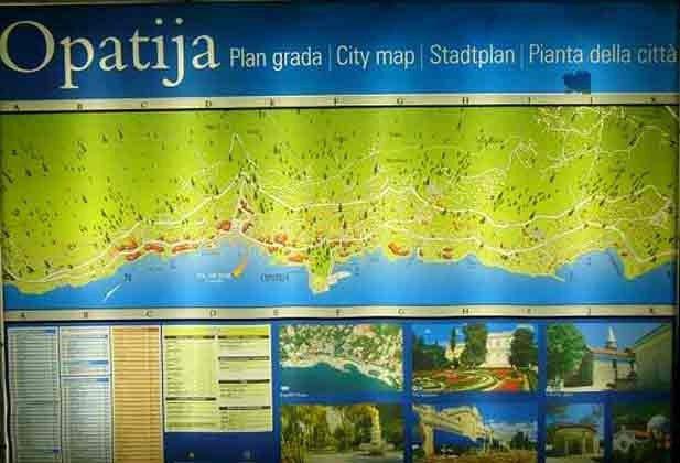 Karte Opatija Riviera- Objekt.2067-1