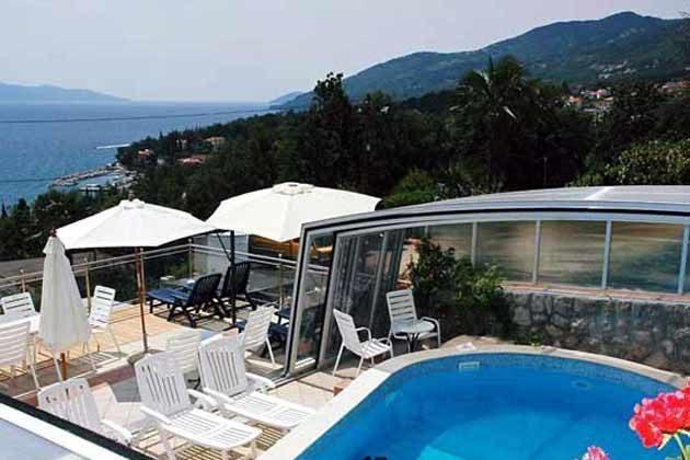 Apartmenthaus mit Pool und Wellnessbereich in Icici