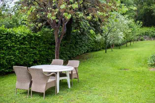 A2 Sitzplatz im Garten - Objekt 2121-1