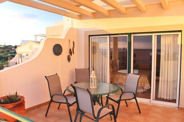 Portugal Algarve Lagos Penthouse Appartment Terrasse