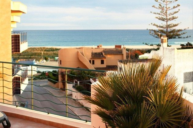 Portugal Algarve Lagos Penthouse Appartment Terassenblick