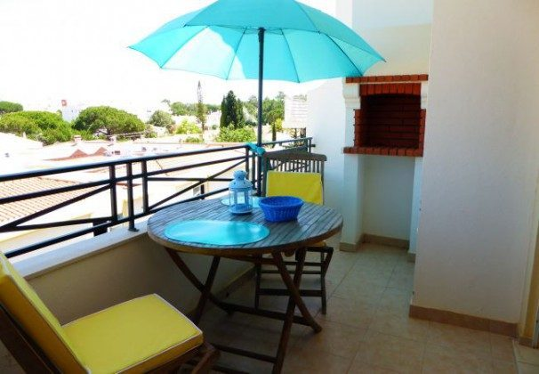 Balkon Algarve T1 Ferienwohnung Ref: 124113-54