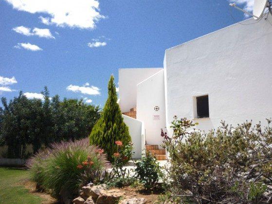 Villa Boa Jardim Stiege zur Dachterrasse