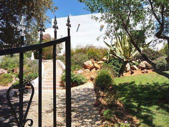 Villa Boa Jardim Eingang