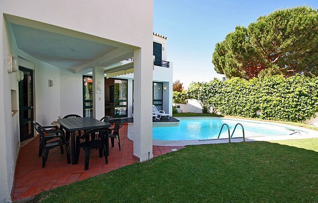 Au�enansicht  Algarve Vilamoura Ferienvilla Ref. 152139-5