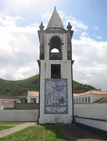 Portugal Azoren Insel Graciosa - Glockenturm