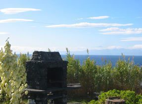 Portugal Azoren Insel Graciosa Carapacho Quinta da Graciosa