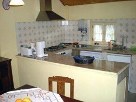 Ferienwohnung Girassol Küche