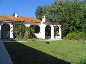 Ferienwohnung Costa de Lisboa mit Garten