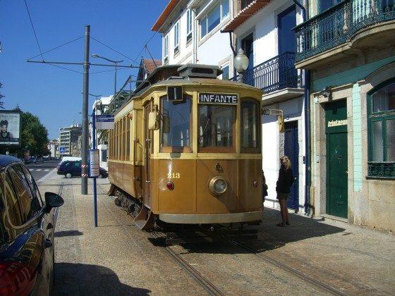 Trambahn in Porto
