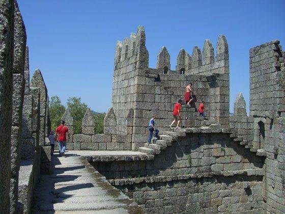 das alte Castello in Guimaraes