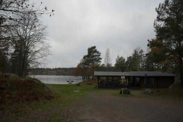 Badestrand und Sauna