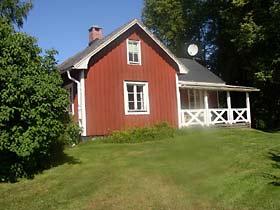 Ferienhaus Värmland mit Garten