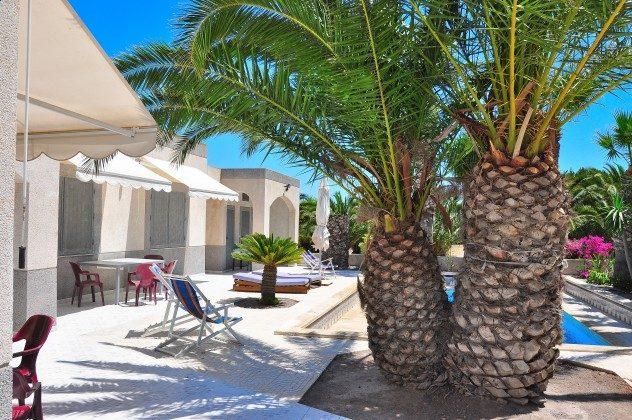 Ferienhäuser und Pool