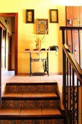 Hauseingang mit Treppenaufgang Andalusien Huerta del rio Ref. 193167-1