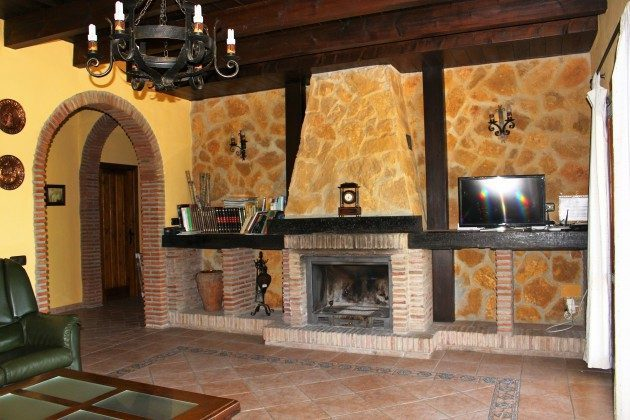 Wohnzimmer Kamin  Andalusien Casa la Solana Ref. 192565-1