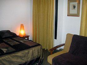 Schlafbereich Apartment Granada Andalusien