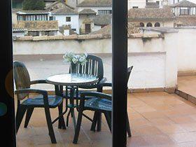Terrasse Apartment Granada Andalusien