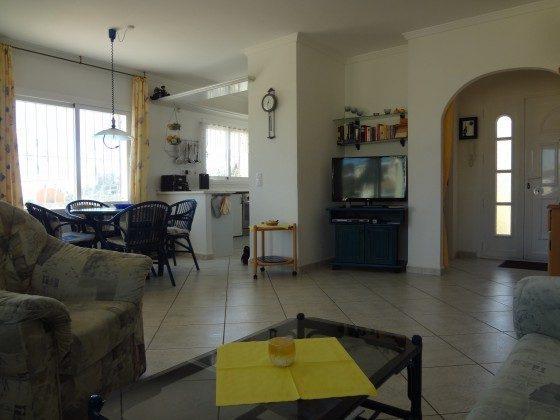 Essecke und Küche obere Wohnung