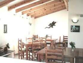 Costa Blanca Denia Hotelpension Frühstücksraum