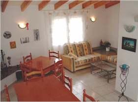 Costa Blanca Denia Hotelpension Kaminzimmer