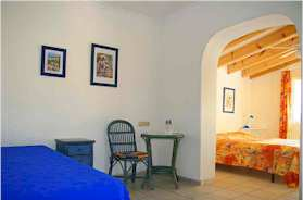Costa Blanca Denia Hotelpension Familienzimmer