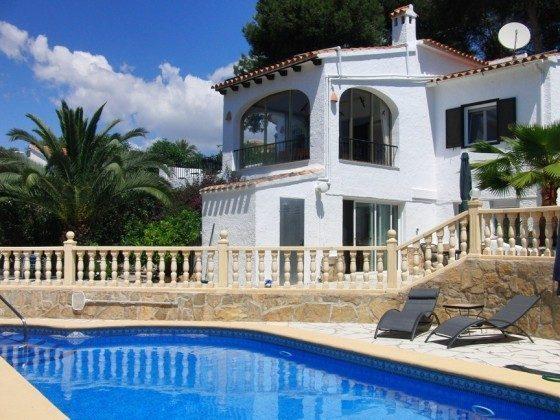 Ferienhaus Costa Blanca mit nahegelegener Tennisanlage