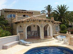 Ferienhaus Costa Blanca mit Kamin