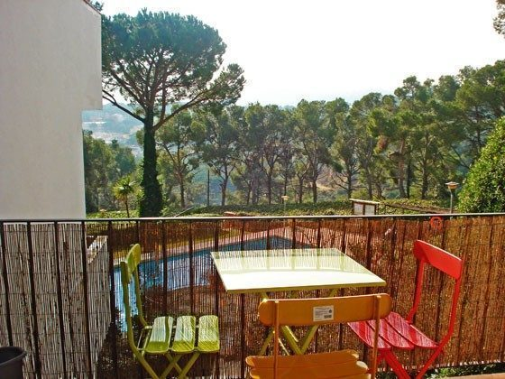 Balkon H2 Llafranc Ferienwohnungen in Anlage Ref. 140331-21