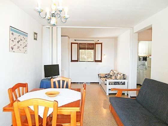 Wohnbereich H3 Llafranc Ferienwohnungen in Anlage Ref. 140331-21