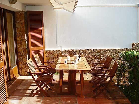 Terrasse H1 Llafranc Ferienwohnungen in Anlage Ref. 140331-21