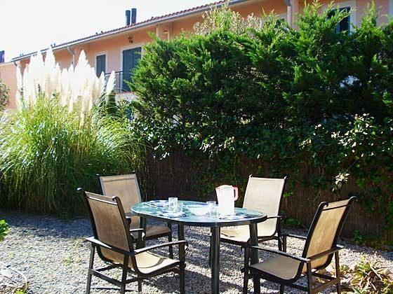 Terrasse  Mas Pinell 33 Ferienhäuser in Wohnanlage Ref. 140331-19