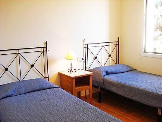 Einzelbetten Mas Pinell 44 Ferienhäuser in Wohnanlage Ref. 140331-19