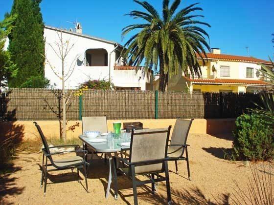 Terrasse Mas Pinell 44 Ferienhäuser in Wohnanlage Ref. 140331-19