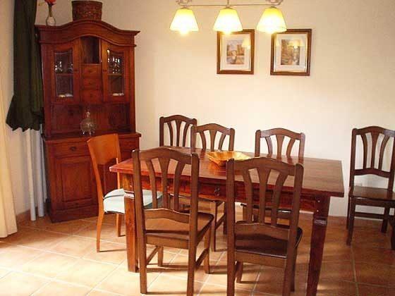 Essbereich Mas Pinell 61 Ferienhäuser in Wohnanlage Ref. 140331-19
