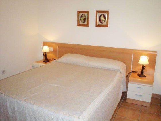 Doppelbett Mas Pinell 61 Ferienhäuser in Wohnanlage Ref. 140331-19