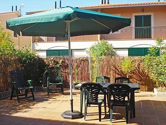 Terrasse Mas Pinell 61 Ferienhäuser in Wohnanlage Ref. 140331-19