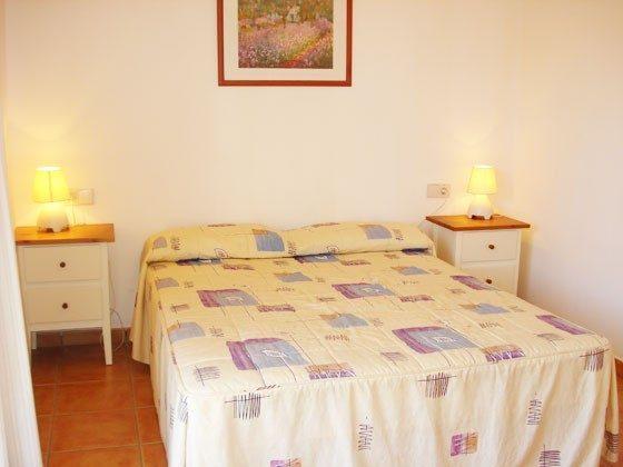 Doppelbett Mas Pinell 73 Ferienhäuser in Wohnanlage Ref. 140331-19