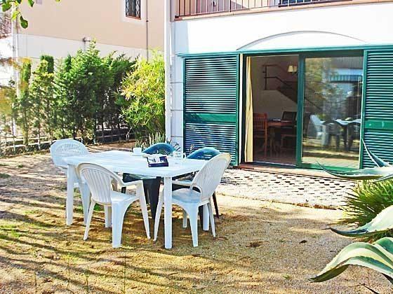Terrasse Mas Pinell 73 Ferienhäuser in Wohnanlage Ref. 140331-19
