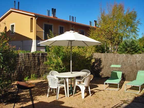 Terrasse Mas Pinell 89 Ferienhäuser in Wohnanlage Ref. 140331-19