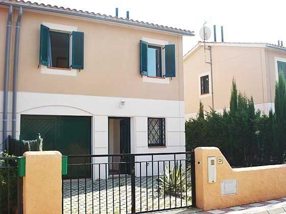 Hauseingang Beispiel Ferienhäuser in Wohnanlage Ref. 140331-19